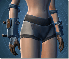 Citadel Hunter Female Gauntlets