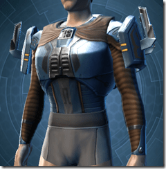 Citadel Hunter Male Body Armor