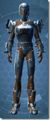 Citadel Hunter - Male Front