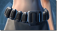 Citadel Trooper Female Belt