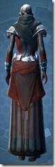 Citadel inquisitor - Female Back