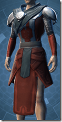 Citadel inquisitor Male Robe