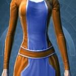 Deep Orange and Light BlueArtifice - 570