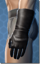 Dense Gauntlets - Male Left