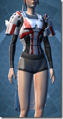 Exhumed Trooper Female Body Armor