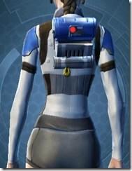 Garnik Infantry Armor - Female Back