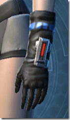Garnik Infantry Gauntlets - Female Left