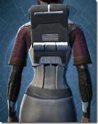 Hardguard Armor - Female Back