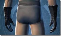 Hardguard Gauntlets - Male Back