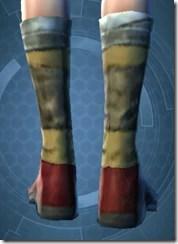 Mining Shoes - Female Back