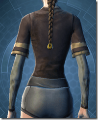 Mining Vest - Female Back