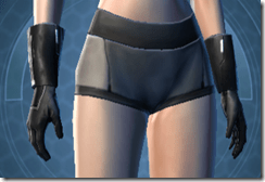 Noble Commander Female Gloves