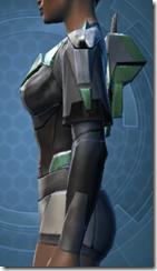 Oiled Jiguna Combat Jacket - Female Left