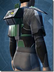 Oiled Jiguna Combat Jacket - Male Right