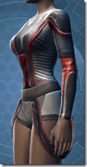 Overseer's Vestments - Female Left