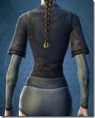 Padded Coat - Female Back