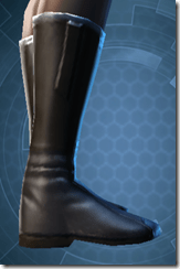 Plastiplate Boots - Female Right