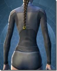 Plastiplate Chestguard - Female Back