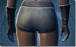 Plastiplate Gauntlets - Female Back