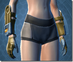 Powered Exoguard Female Gauntlets