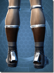 RD-02A Battle Boots - Male Back