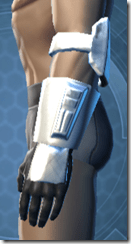 RD-12B War Gauntlets - Male Left