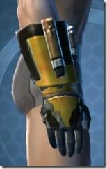 RD-12B War Gauntlets - Male Right