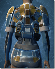 Refurbished Scrapyard Armor - Female Back
