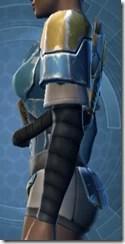Refurbished Scrapyard Armor - Female Left