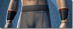 Revanite Avenger Male Bracers