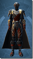 Revanite Avenger - Male Front