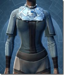 Sith Assailant's Vest - Female Front