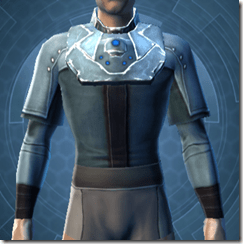 Sith Assailant's Vest - Male Front