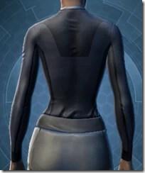 Synthleather Jacket - Female Back