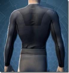 Synthleather Jacket - Male Back