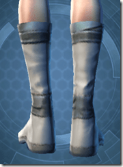 Synthleather Kneeboots - Female Back