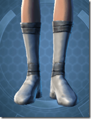 Synthleather Kneeboots - Female Front