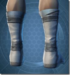 Synthleather Kneeboots - Male Back