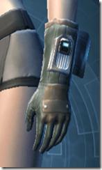 TD-02A Combat Gloves - Female Left