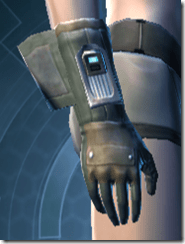 TD-02A Combat Gloves - Female Right