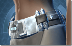 Traveler's Belt - Female Left