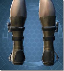 Vindicator's Boots - Male Back