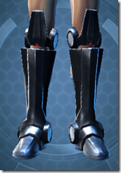 Vindicator's Boots - Male Front