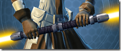 Acolyte's Saberstaff - Front