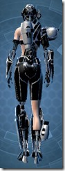 B-200 Cybernetic - Female Back