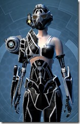 B-200 Cybernetic - Female Close