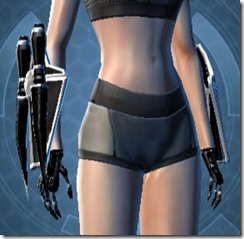 B-200 Cybernetic Female Gauntlets
