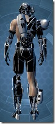 B-200 Cybernetic - Male Back