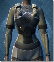 Battle Armor - Female Front
