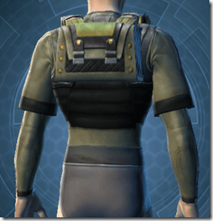 Battle Armor - Male Back